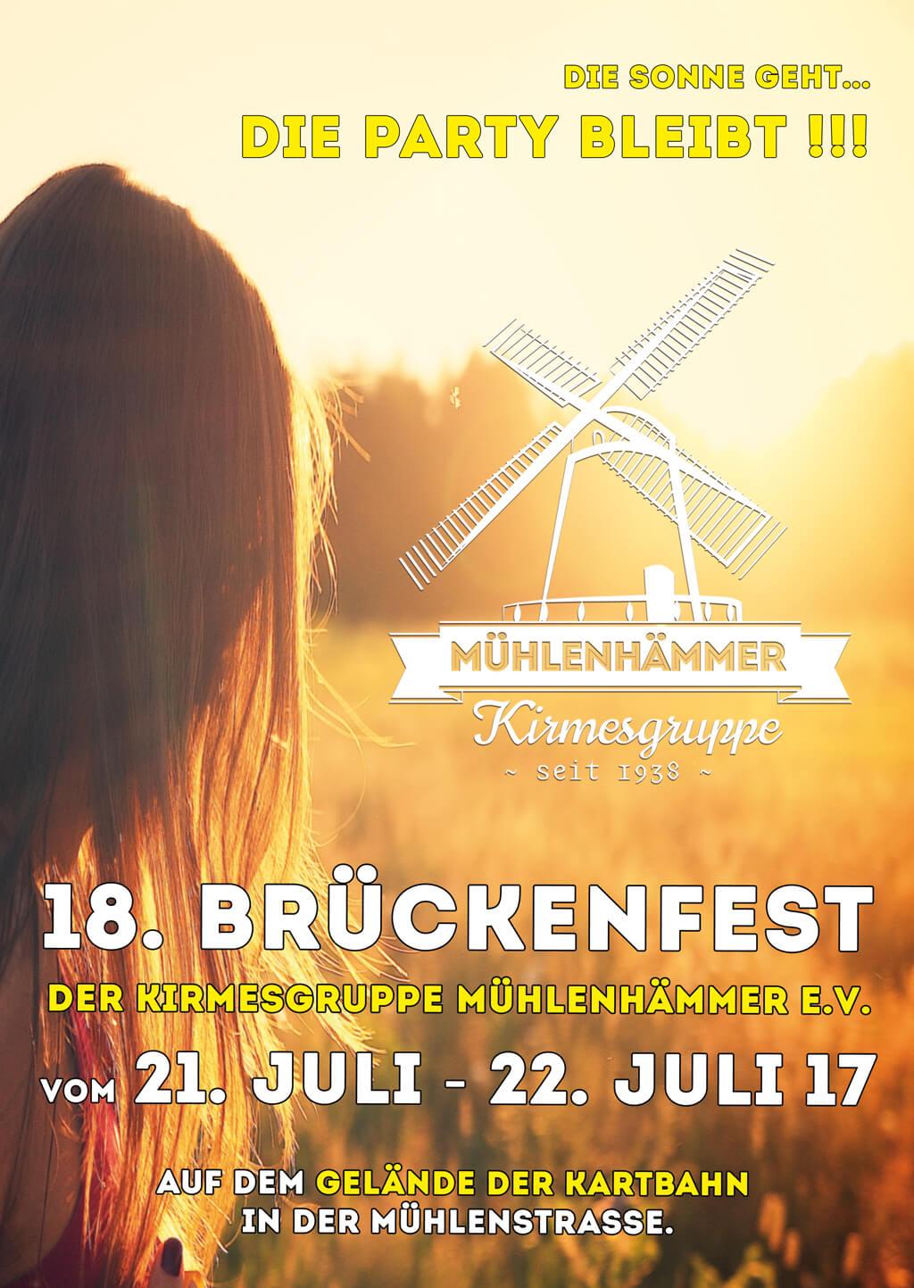 18. Brückenfest der Kirmesgruppe Mühlenhämmer e.V. | Gevelsberg